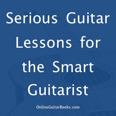 serious guitar lessons ad