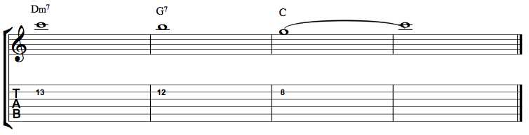 2-5-1-VoiceLeading02 highest note