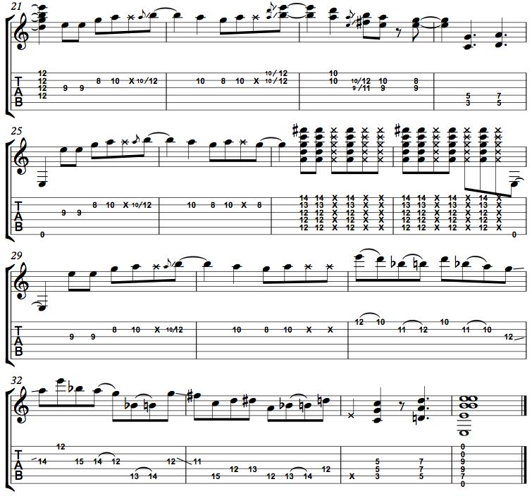 E minor Funk page2
