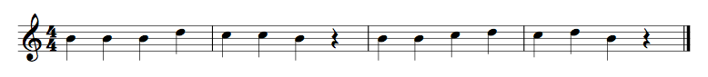 B String Exercise 1