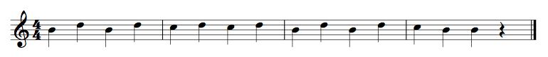 B String Exercise 7