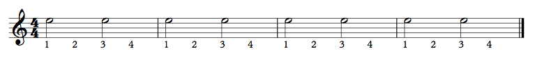 051 - Half Notes Ex 1