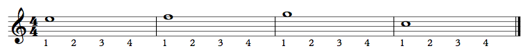 053 - Half Notes Exercise