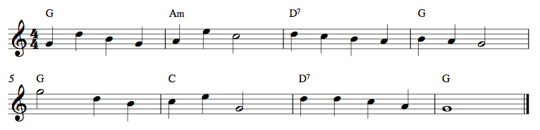 3 Strings Exercise 2