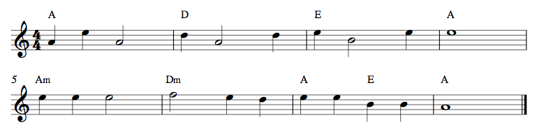 3 Strings Exercise 5