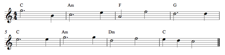 3 Strings Exercise 9