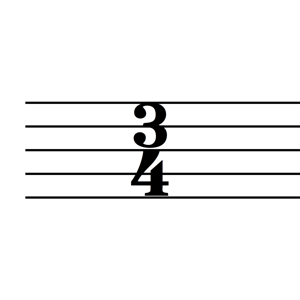Time Signature 34 Pic