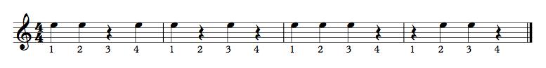053 - Half Notes Ex Example B