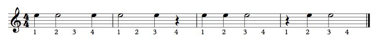053 - Half Notes Ex