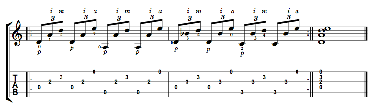 Finger Picking Exercise 2
