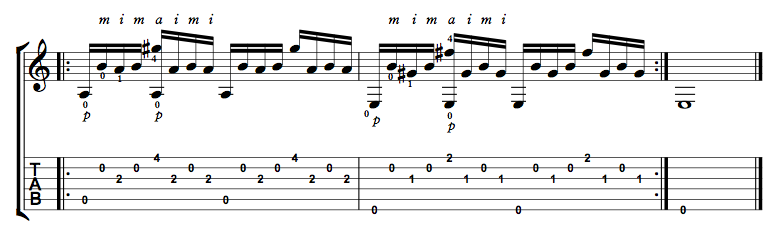 Finger Picking Exercise 7