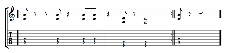 Power Chord Riff 1