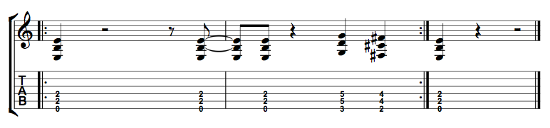 Power Chord Riff 2