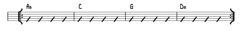 Bar Chord and Open Chord Ex