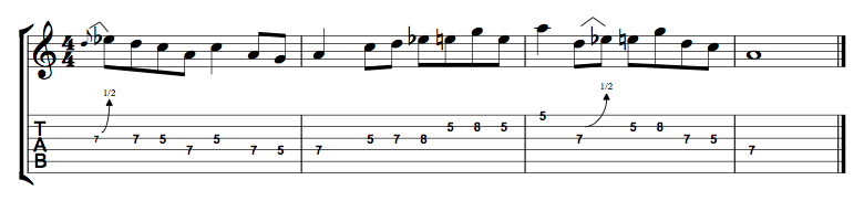 Minor Blues Lick 2