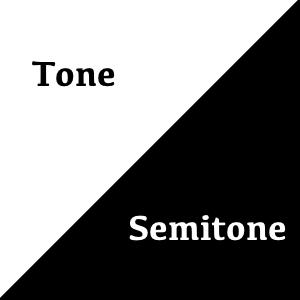 tones semitones pic 300