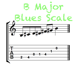 B Major Blues Feature