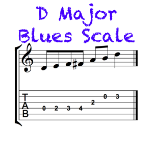 D Major Blues Feature