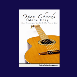 Lessons From The Book 'Open Chords Made Easy'