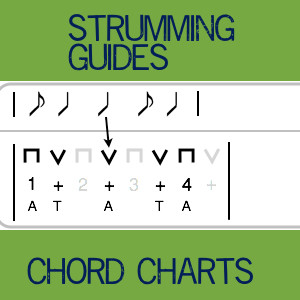 How To Read The Strumming Guides And Chord Charts