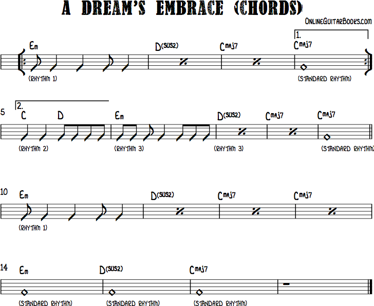 A Dreams Embrace Chords