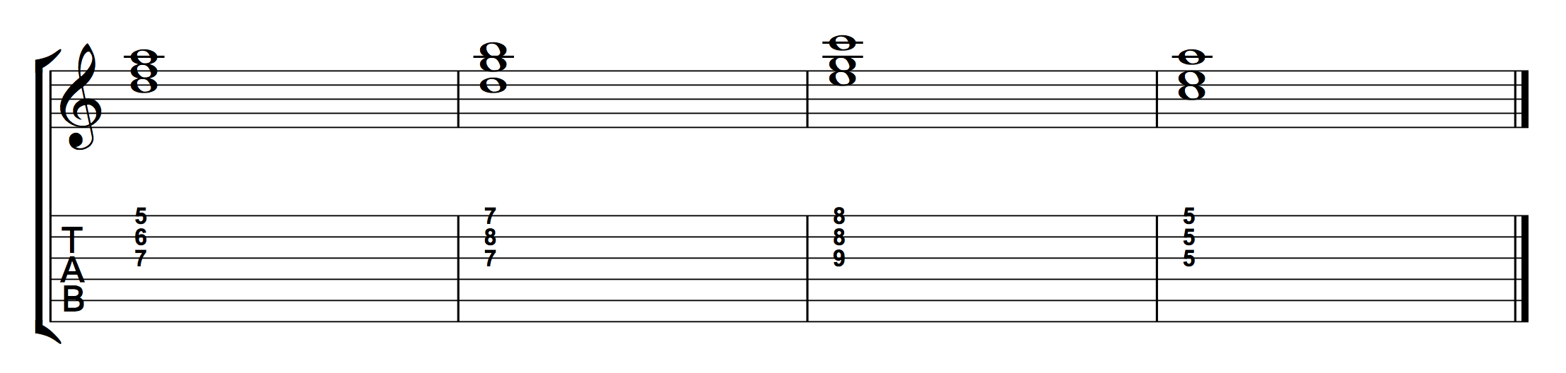 Chord Progression Using 2nd Inversion Triads