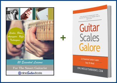 Guitar Scales Galore Cover W300