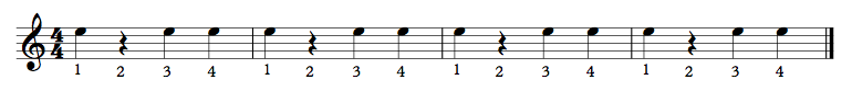 Clapping Exercise 3