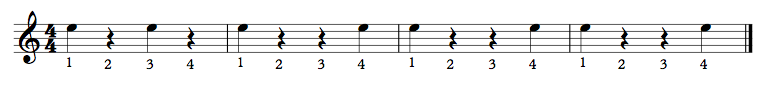 Clapping Exercise 4