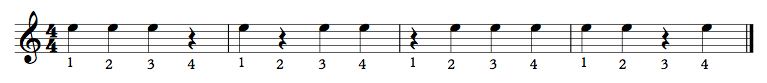 Clapping Exercise 5