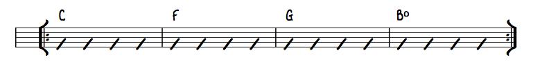 Chord Progression Example 3