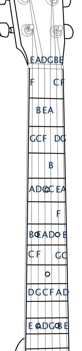 fretboard notes