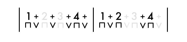 8ths 2 Bar Rhythm 1
