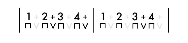 8ths 2 Bar Rhythm 2
