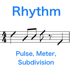 Rhythm – Pulse, Meter And Subdivision