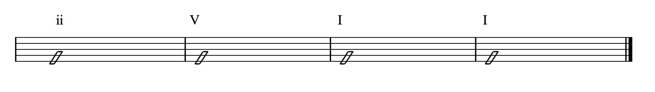 Chord Progression 2 5 1