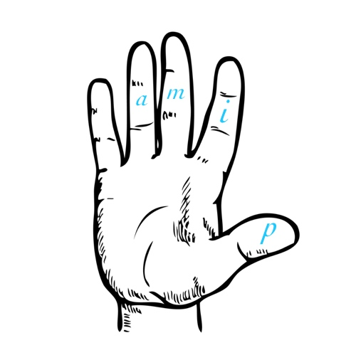 Right Hand Fingerings
