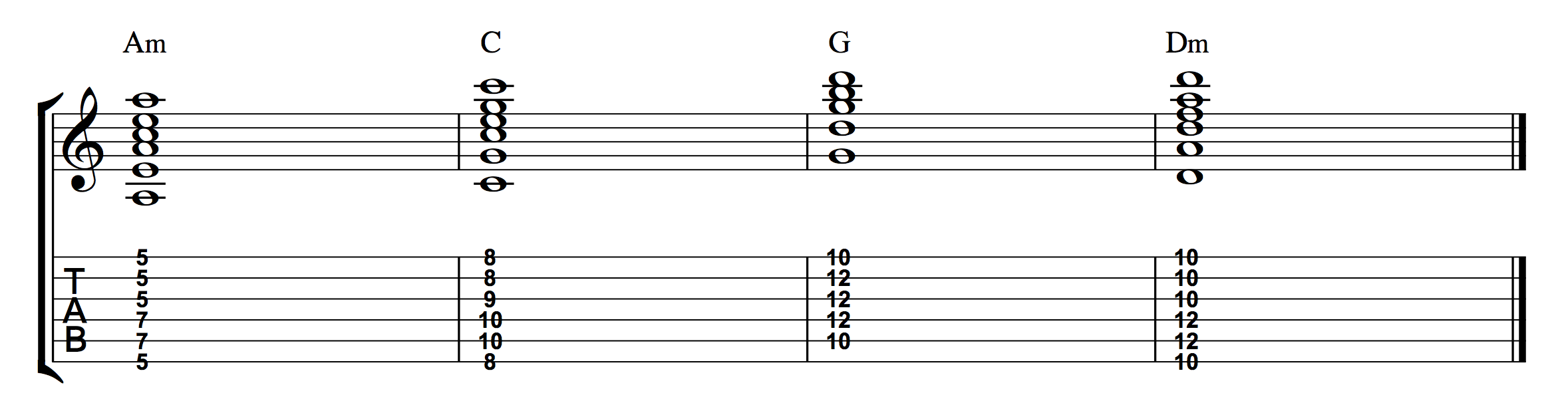 Chord Ex 2 - Demo 4