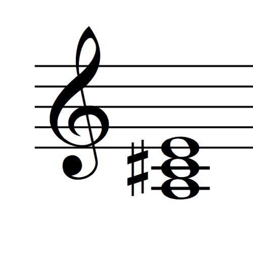 A Major Triad Piano 500